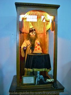 wizard, musee mechanique, fishermans wharf