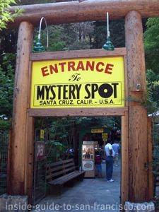 mystery spot santa cruz, entrance