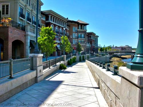 napa riverfront, riverwalk area