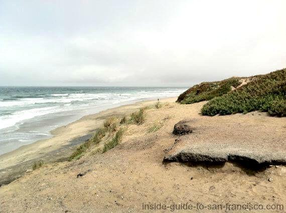 ocean beach san francisco, sand dunes