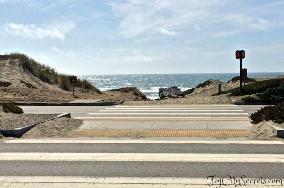 ocean beach san francisco, taraval street access