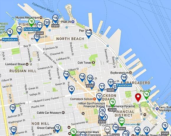 Best Parking Apps for San Francisco