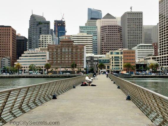 pier 14 san francisco embarcadero, city view