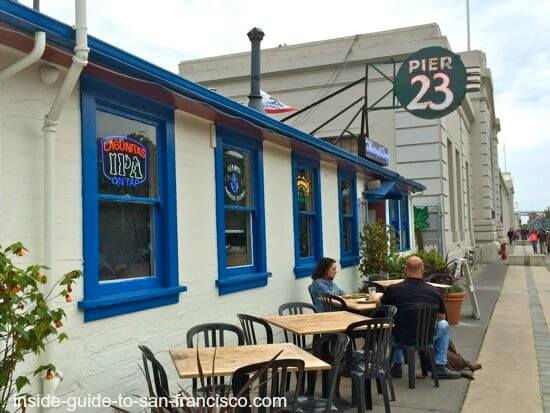pier 23 cafe, sf embarcadero