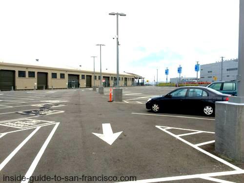 pier 27 parking lot, embarcadero, san francisco