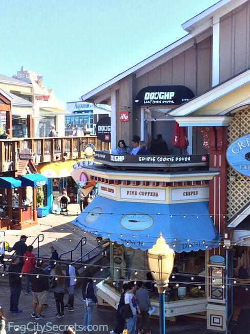 Cookie-dough shop, DOUGHP, at Pier 39
