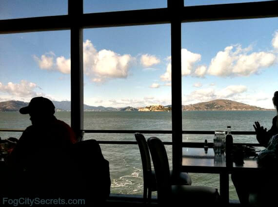 pier 39 marina, view from restaurant