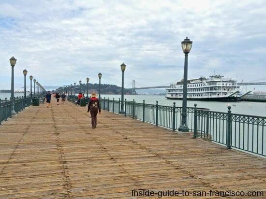 pier 7 walkway embarcadero, san francisco