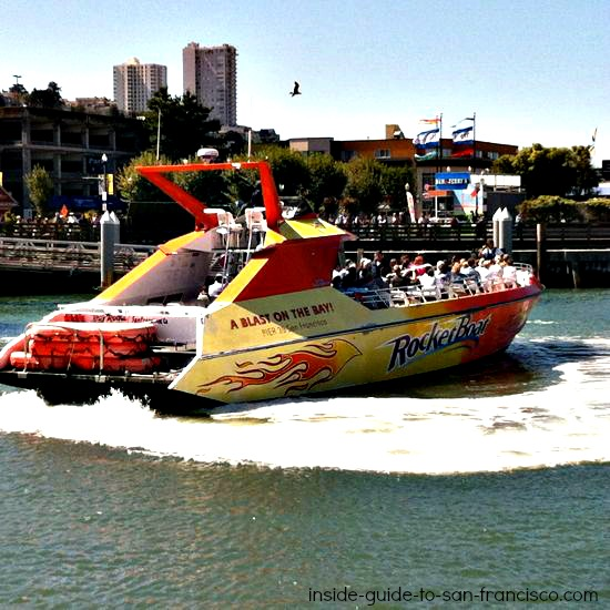rocket boat ride, san francisco