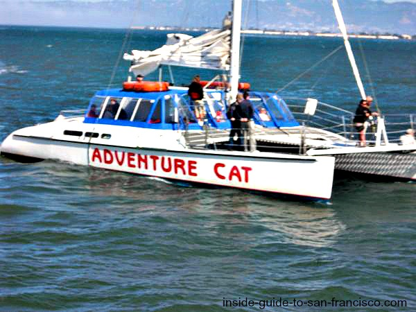 san francisco bay cruises, catamaran