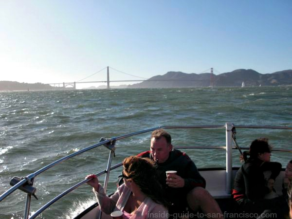 san francisco bay cruises, chuckys pride fishing boat