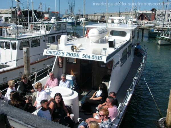 san francisco bay cruises, fishing boat ready to leave dock