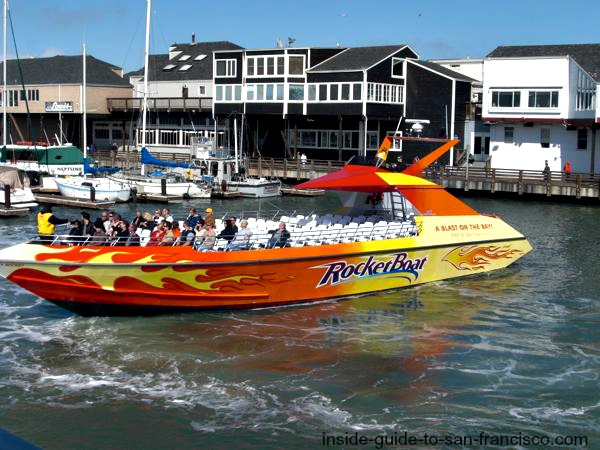 san francisco bay cruises, rocket boat