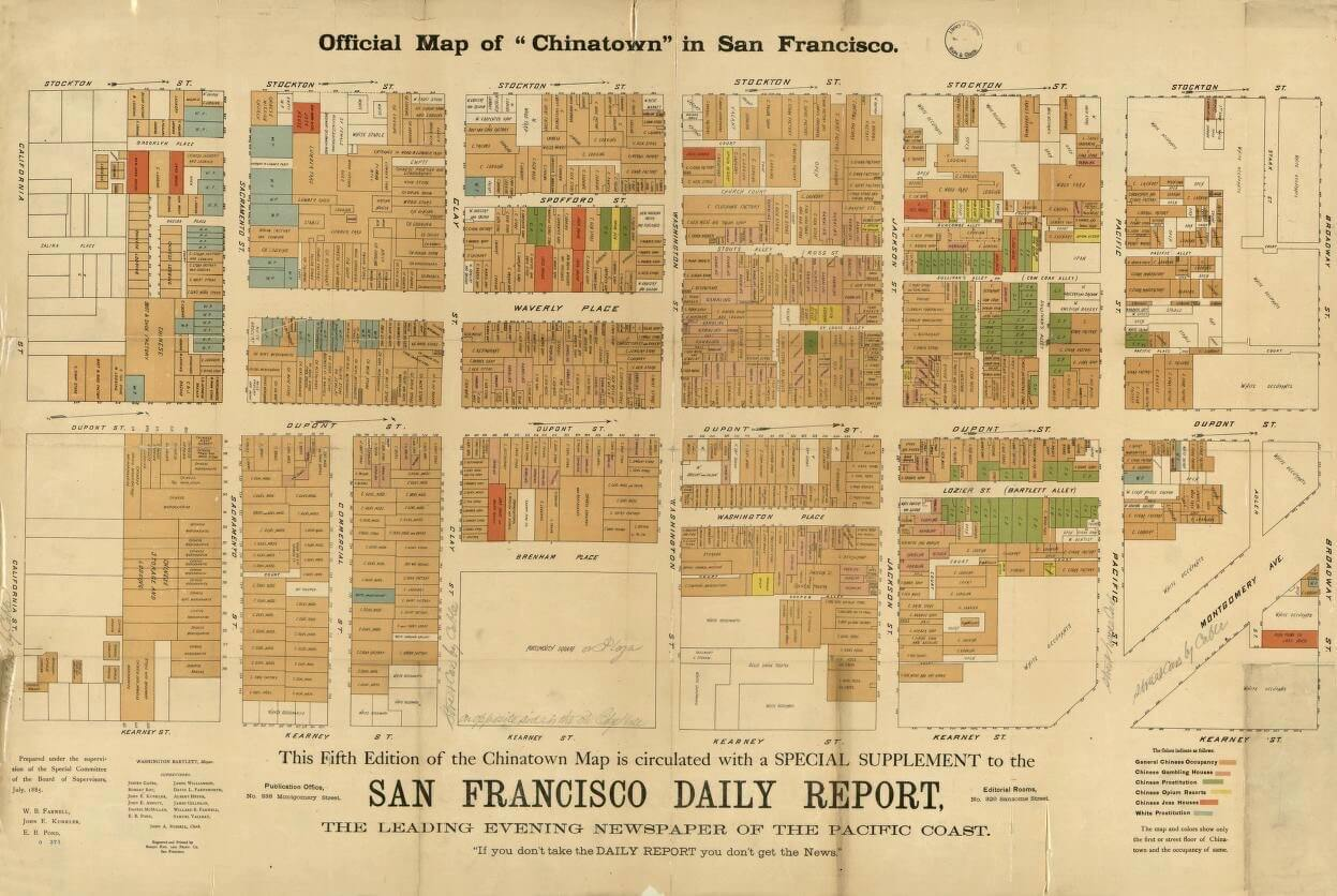 San Francisco Chinatown History the good the