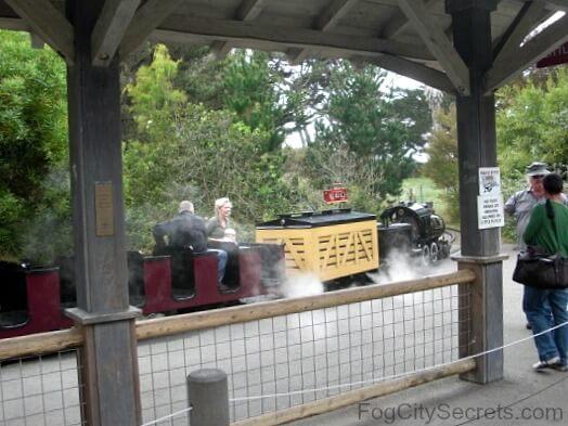 san francisco zoo, steam train