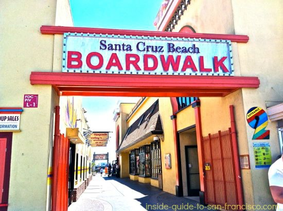 santa cruz boardwalk entrance