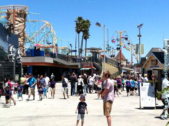 santa cruz boardwalk rides