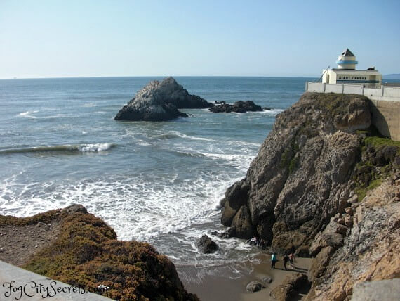seal rock, ocean beach, san francisco