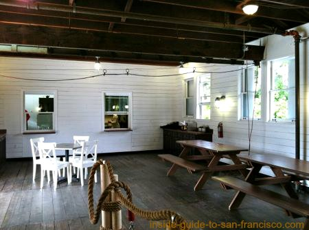 new cafe, stow lake boathouse