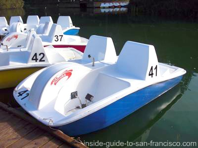 stow lake, new pedal boats
