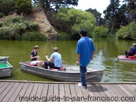 stow lake rowboat rental, golden gate park