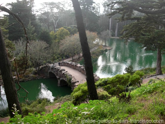 stow lake, strawberry hill, golden gate park