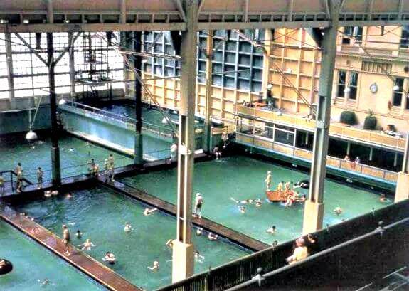 sutro baths, swimming pools in 1943