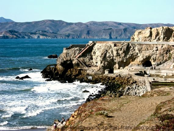 view of sutro baths from cliff house, san francisco