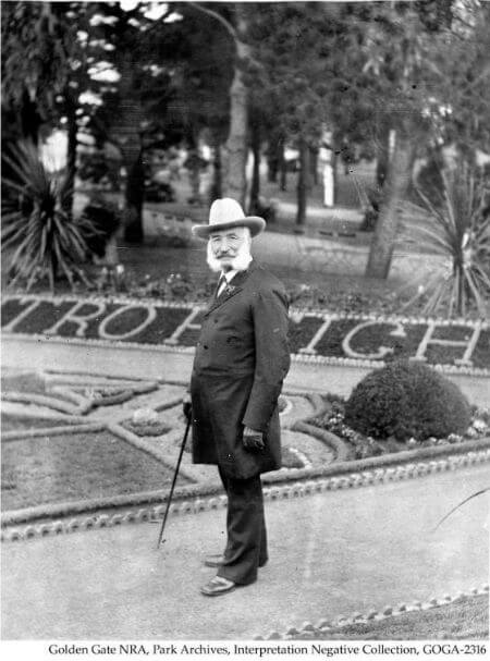adolph sutro, sutro heights park, san francisco