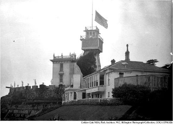house and observatory, sutro heights park, san francisco