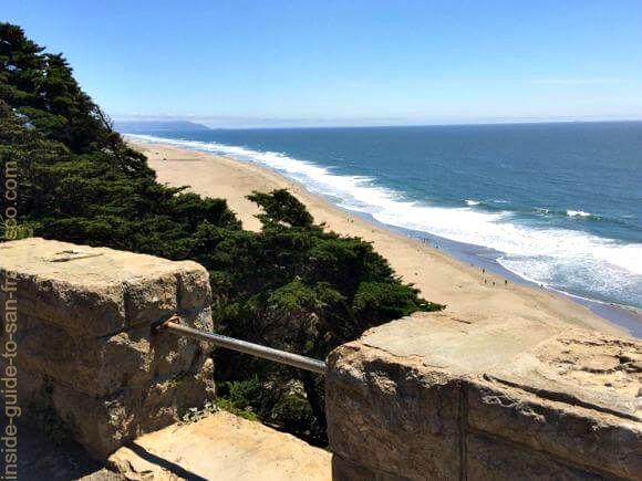 ocean beach view, sutro heights park, san francisco