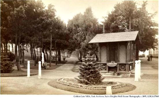 original well house, sutro heights park, san francisco