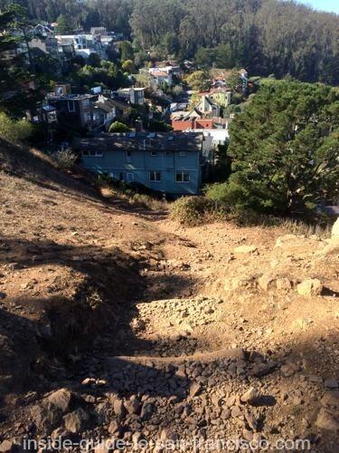 tank hill path, san francisco