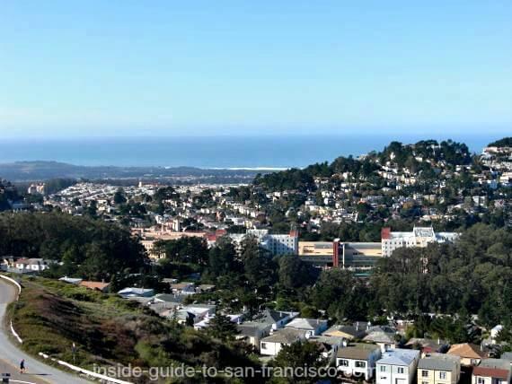 twin peaks san francisco, ocean view