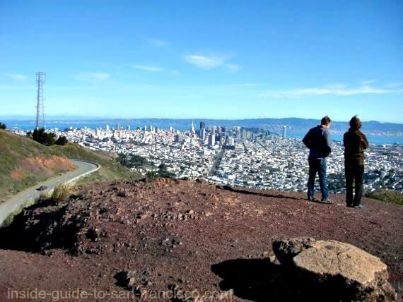 twin peaks san francisco, city view
