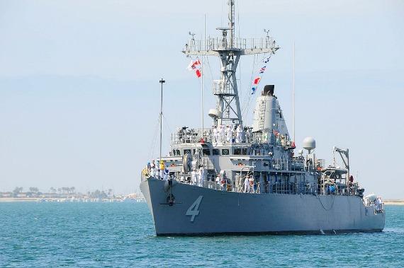 USS Champion, Navy minesweeper