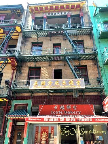 chinatown san francisco waverly place chinese association