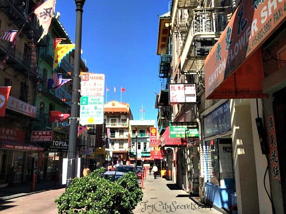 chinatown san francisco waverly place