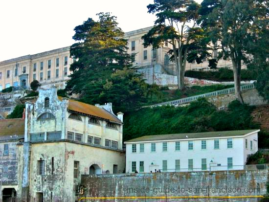view of alcatraz on bay cruise