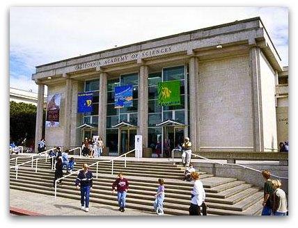 california academy of sciences, old building, 2003