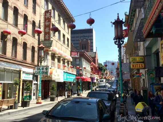 chinatown san francisco grant avenue