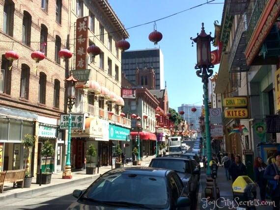 chinatown san francisco grant avenue