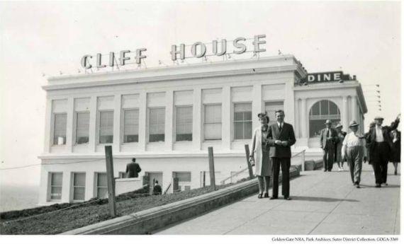 cliff house 1938, san francisco