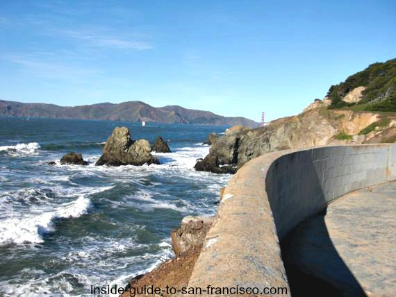 point lobos, view from cliff house, san francisco