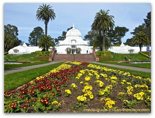 conservatory of flowers, san francisco, golden gate park
