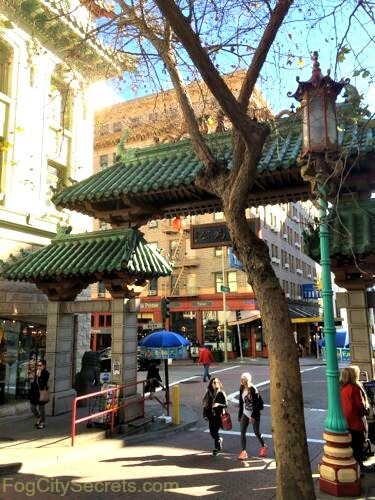 chinatown san francisco dragon gate