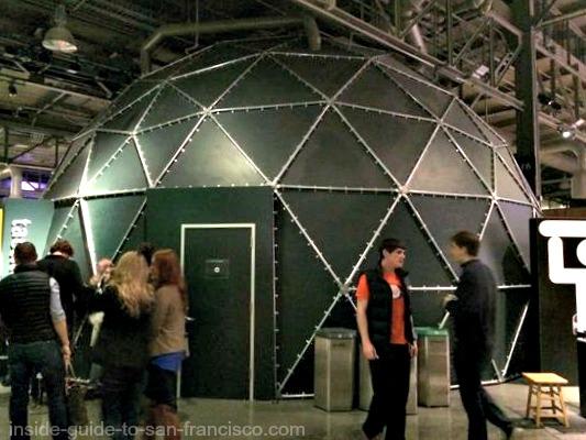 Tactile Dome exterior, Exploratorium