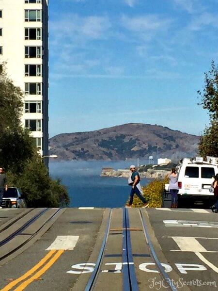 alcatraz and angel island view during san francisco go car tour
