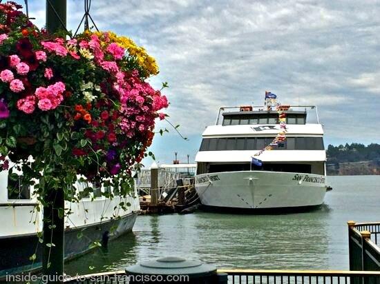 hornblower landing, docked ship, pier 3, san francisco