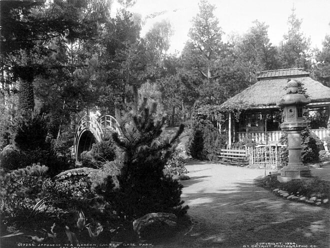 Japanese Tea Garden in 1904, San Francisco